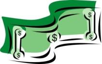 stylized_dollar_bill_money_clip_art_18576